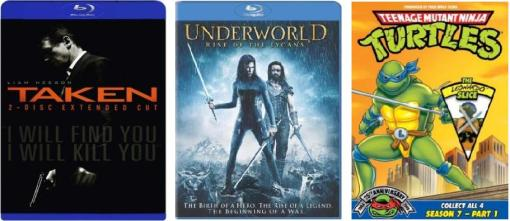 Taken_Underworld_Teenage-Mutant-Ninja-Turtles_DVD Covers