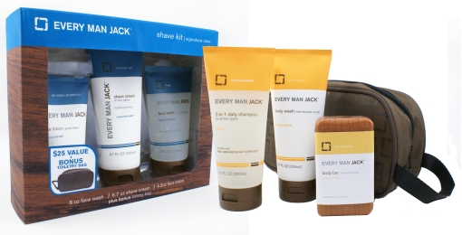 Every Man Jack Father's Day Kits at TARGET: Signature Shave Kit & Citrus Hair + Body KIt