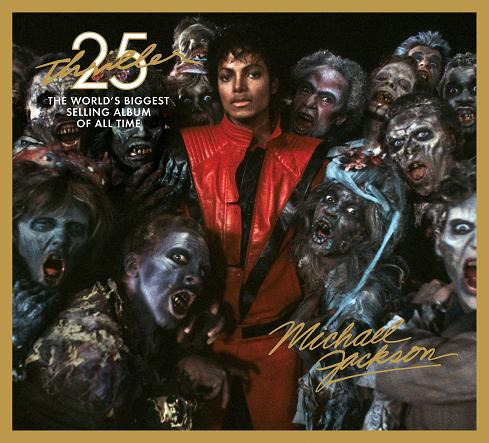 Michael Jackson: Thriller 25th Anniversary Album Cover